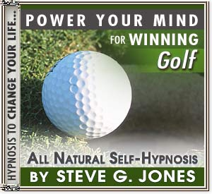 Winning Golf hypnosis CD