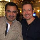 Steve G. Jones with Tony Melendez of Univision