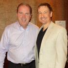 Steve G. Jones with Bill Walsh