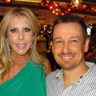 Steve G. Jones with Vicki Gunvalson of The Real Housewives
