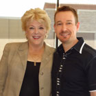 Steve G. Jones with Carolyn Goodman Mayor of Las Vegas