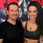 Steve G. Jones with Sue Lasmar, Fitness Model
