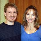 Steve G. Jones with actress Antoinette Byron