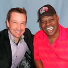 Steve G. Jones with Leon Spinks
