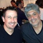 Steve G. Jones with Paul Hoffman