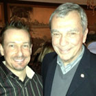 Steve G. Jones with Stratton Leopold