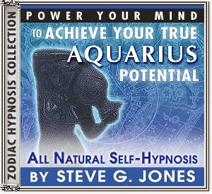 Hypnosis CD or MP3 specially for the Aquarius Starsign