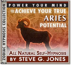 Hypnosis CD or MP3 specially for the Aries Starsign