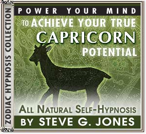 Hypnosis CD or MP3 specially for the Capricorn Starsign