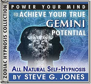 Hypnosis CD or MP3 specially for the Gemini Starsign