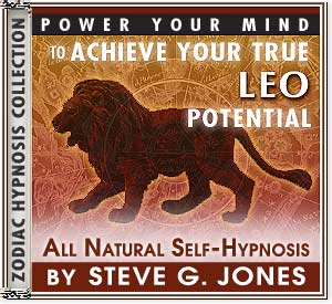 Hypnosis CD or MP3 specially for the Leo Starsign