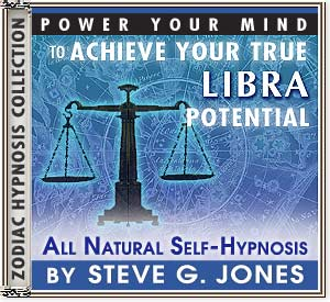 Hypnosis CD or MP3 specially for the Libra Starsign