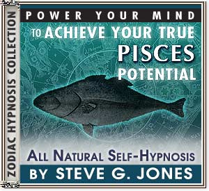 Hypnosis CD or MP3 specially for the Pisces Starsign