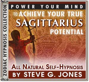 Hypnosis CD or MP3 specially for the Sagittarius Starsign