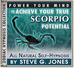 Hypnosis CD or MP3 specially for the Scorpio Starsign