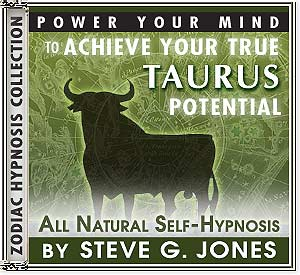 Hypnosis CD or MP3 specially for the Taurus Starsign