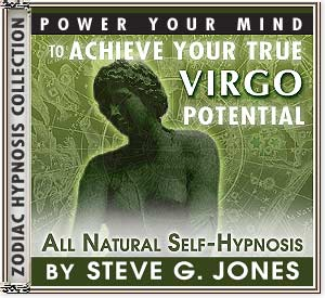 Hypnosis CD or MP3 specially for the Virgo Starsign