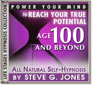 Power Your Mind with Hypnotherapy - created especially for anyone aged 100 or more - Hypnosis CD or MP3 available!