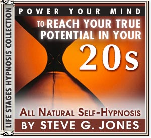 Power Your Mind to Reach Your True Potential - Hypnosis for people turning 20 or in their 20s - CD or MP3 available!