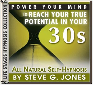 Power Your Mind to Reach Your True Potential - Hypnosis for people turning 30 or in their 30s - CD or MP3 available!