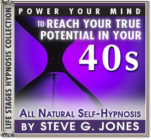 Power Your Mind to Reach Your True Potential - Hypnosis for people turning 40 or in their 40s - CD or MP3 available!