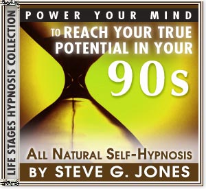 Power Your Mind to Reach Your True Potential - Hypnosis for people turning 90 or in their 90s - CD or MP3 available!