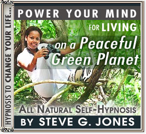 Living on a Peaceful Green Planet  hypnosis CD