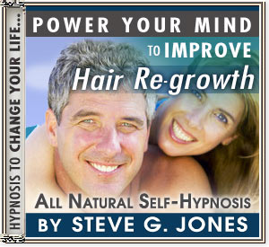 CD or MP3 to Power Your Mind to Improve Hair Re-Growth