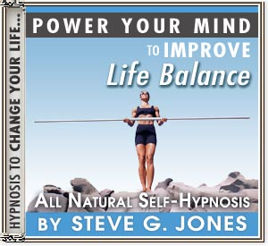 Improve Life Balance Power Your Mind Hypnosis CD
