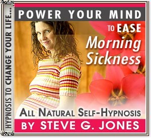 Ease Morning Sickness Power Your Mind Hypnosis CD