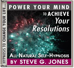Achieve Your Resolutions Power Your Mind Hypnosis CD