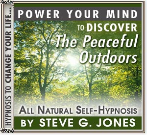 Discover the Peaceful Outdoors Power Your Mind Hypnosis CD