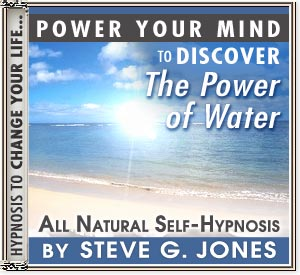 Discover the Power of Water Power Your Mind Hypnosis CD