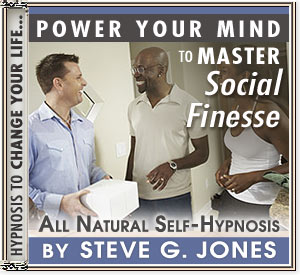 Master Social Finesse Power Your Mind Hypnosis CD