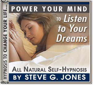 Listen to Your Dreams Power Your Mind Hypnosis CD