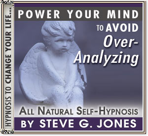 Avoid Overanalyzing Power Your Mind Hypnosis CD