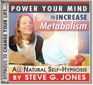 Increase Metabolism hypnosis CD