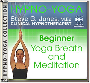 CD or MP3 for Hypno-Yoga Collection: Beginner Yoga Breath and Meditation
