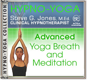 CD or MP3 for Hypno-Yoga Collection: Advanced Yoga Breath and Meditation