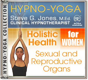CD or MP3 for Hypno-Yoga Collection: Yoga Energy for Female Sexual and Reproductive Organs