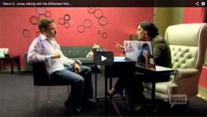 Steve G. Jones talks with Patti Stanger VIDEO