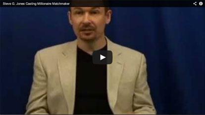 Steve G. Jones Casting for the Millionaire Matchmaker VIDEO