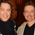 Steve G. Jones with magician Jeff McBride