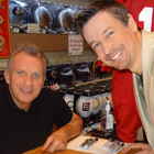 Steve G. Jones with Joe Montana