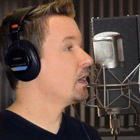 Steve G. Jones in the studio