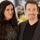 Steve G. Jones with Patti Stanger of Millionaire Matchmaker
