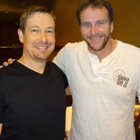 Steve G. Jones with Bob Doyle from The Secret