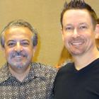 Steve G. Jones with Joe Rubino