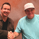 Steve G. Jones with Pete Rose