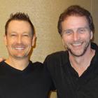 Steve G. Jones with Bob Doyle of The Secret